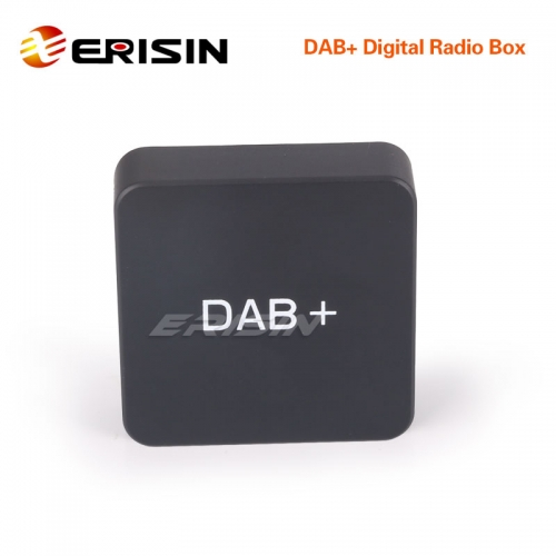 Erisin ES354 DAB+ Digital Radio Box Aerial Amplified Antenna for Android 6.0/7.1/8.0/9.0 Stereos