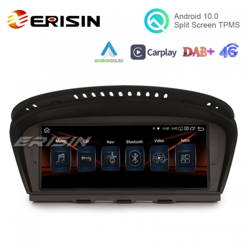 "Erisin ES8159B 8.8"" IPS Screen Android 10.0 Car Radio GPS CCC CIC System OEM CarPlay Auto TPMS for BMW E90 E91 E92 E93 E60 E61 E63 E64"